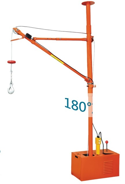 150KGX30M 220V 50Hz 1 phase Indoor crane, hoist use in domestic ...