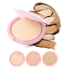 Micro Smooth Mineral Compact Pressed Face Powder Foundation Flawless Conceal Clear Makeup Oil Control Contour  3 Tones