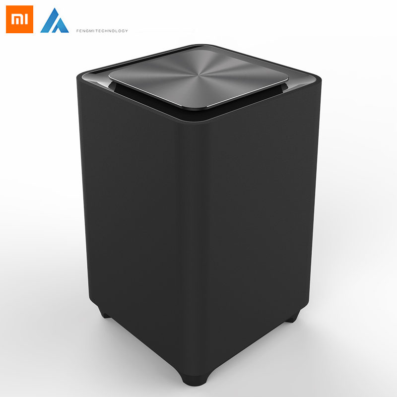 Original Xiaomi Townew T1 Smart Trash Can Motion Sensor Auto Sealing Led Induction Cover Trash 15.5l Mi Home Ashcan Trash Bins To Have A Unique National Style Home Appliances Air Purifier Parts