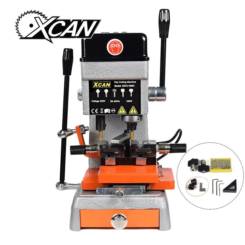 XCAN 998C высокий профессиональный универсальный ключ для резки 220В/50Гц отмычку набор слесарь инструменты дубликат ключа для резки