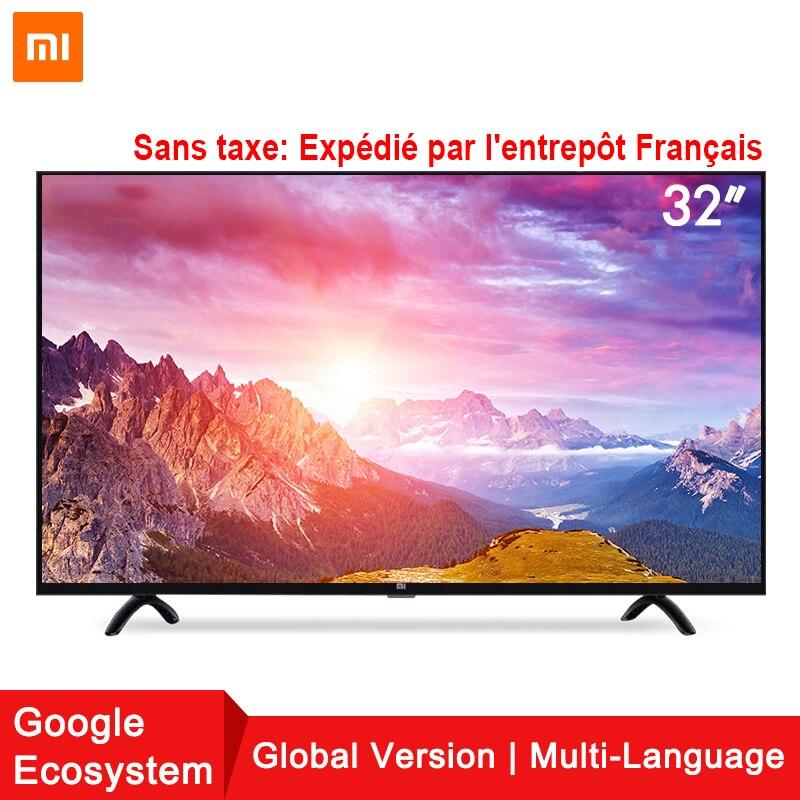 Xiaomi Smart TV Ensemble 4A 32 pouces 1366x768 Télévision 64-peu quad-core Intelligence Artificielle HDMI WIFI 1 GB + 4 GB affichage de jeu