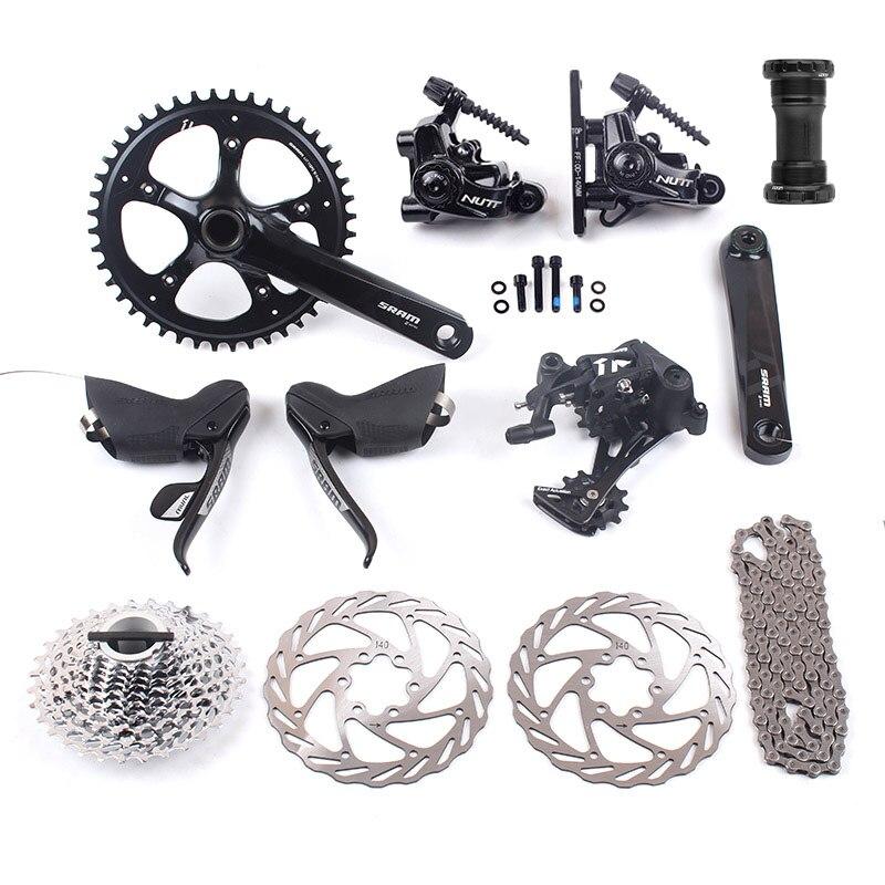 SRAM RIVAL 1 APEX 1 11s 1x11 Road Bike Groupset 44T 170mm 11 32T 11 42T