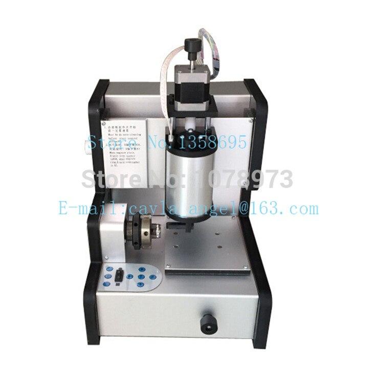 Machine de gravure d'anneau de CNC d'équipement de fabrication de bijoux de 220 V à l'intérieur de la Machine de gravure d'anneau