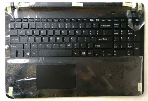 New for sony vaio SVF152 SVF153 SVF152C29L English US backlit laptop keyboard touchpad cover black new for sony vgn fj series laptop us keyboard 147951221 black
