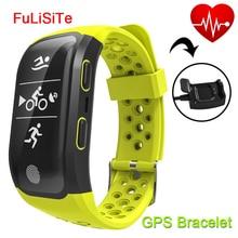 Sensible Band Coronary heart Price Monitor GPS IP68 Waterproof Bluetooth Wristband Gsensor Alarm Clock Run Sport Sensible Bracelet For Swimming