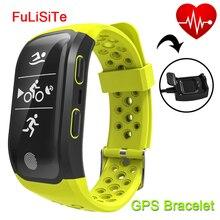 Smart пульсометр GPS IP68 Водонепроницаемый Bluetooth браслет Gsensor будильник запустить спорт умный Браслет для плавания