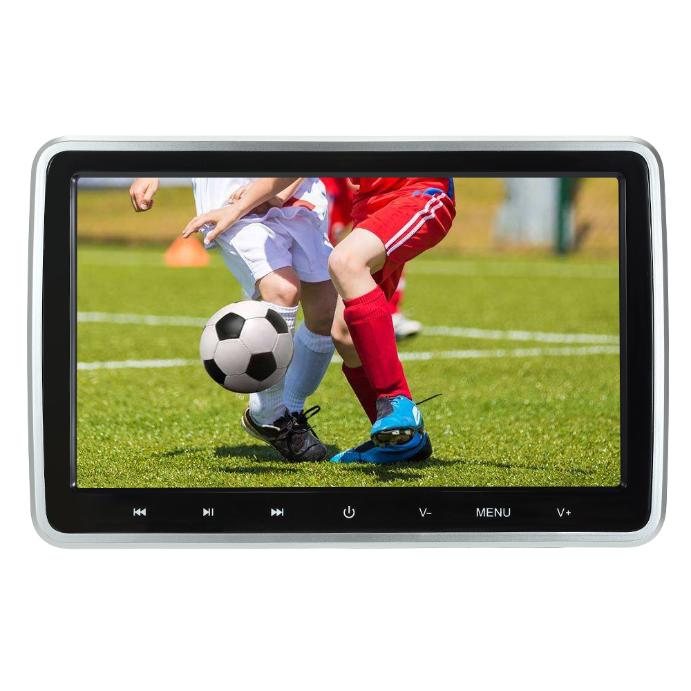 10 1 Digital Screen Touch Key Tablet Style Car Headrest DVD Player Plug and Play Rear
