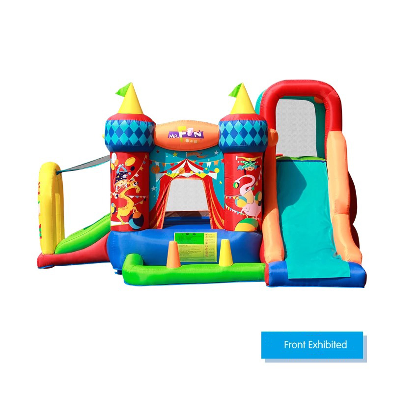 HTB1oZdPPFXXXXaAaXXXq6xXFXXXl - Mr. Fun Residential Nylon PVC Inflatable Bounce Castle Bouncy House with Blower