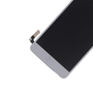 Image 3 - 5.0 inç Orijinal LG K8 2017 Aristo M210 MS210 US215 M200N dokunmatik LCD ekran Ekran Çerçeve ile tamir kiti Değiştirme + araçları