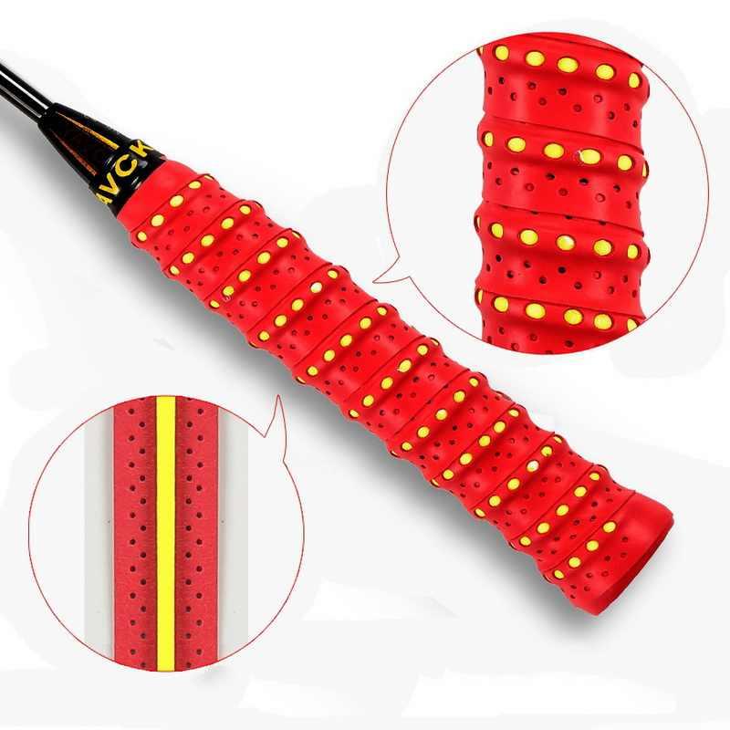 Anti-slip tennis overgrip 배드민턴 그립 스포츠 sweatband 낚싯대 스쿼시 padel racket tape windings over bicycle handle
