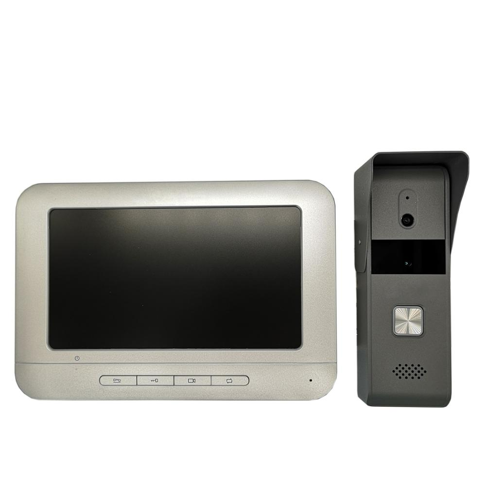 DS-KIS203 4-wire Analog Video Intercom KIT, Video DoorBell, Door Phone, Access Control Doorbell,