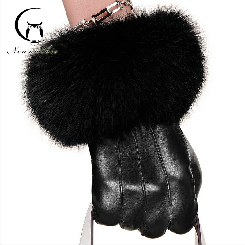 Leather Gloves Womens