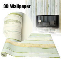 Vintage Retro Home Room Decoration 3D Wallpaper Roll Realistic Wood Panelling Timber Plank Panel Stripe Wallpaper Sticker