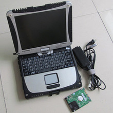 For Panasonic cf19 Toughbook laptop with V2017.12 ICOM A2 software HDD For BMW ICOM Next Diagnostic tool ready use