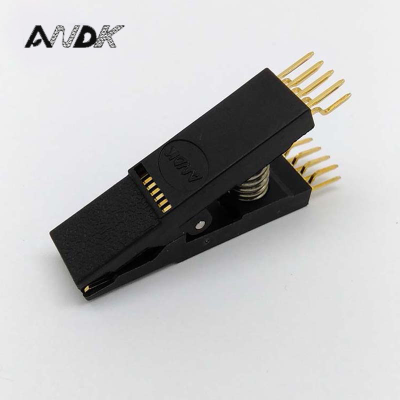 BIOS SOP16 SOIC16 Bent Original Test Clip Pin Pitch 1.27mm For EPROM Programming Clip Suitable for Dupont Line mc14049ubdr2g sop16