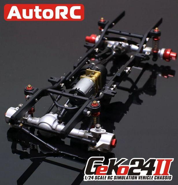 Autorc 1/24 GK24 Full Metal simulación escalada marco kit montar ...