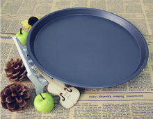 1PC 10 Inch Carbon Steel Pizza Pan Cooking Tools Stone Mold Kitchen Accessories Baking Nonstick Oven JC 0502