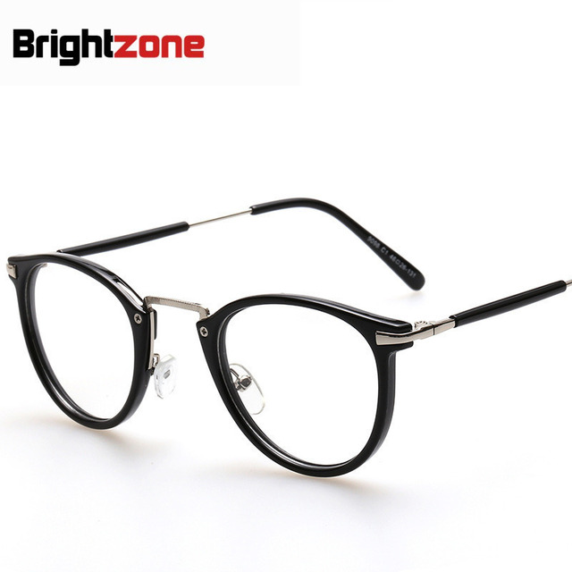 bf0361f20e2 Clear Restore Ancient Ways Round Box Glasses Men And Women Fund Plain  Mirror Goods In Stock Plain Glass Spectacles