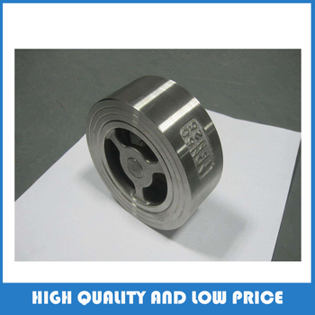 316 material dn125 China Low Price H71W-25P Wafer Check Valve