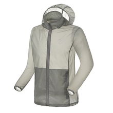 2016 mens running jackets anti-UV thin windproof skin jacket coat clothing for jogging male sports wear JL5039
