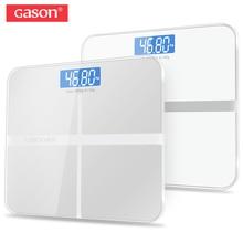 Купить с кэшбэком GASON A1  Bathroom floor scales smart household electronic digital Body bariatric  LCD display Division value 180kg=400lb/0.1kg