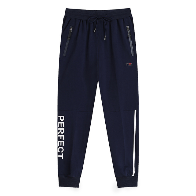 b623aa3b36429 YIHUAHOO Plus Size 7XL 8XL 9XL Men s Sweatpants Casual Loose Track Pants  Solid Color Male Brand ...