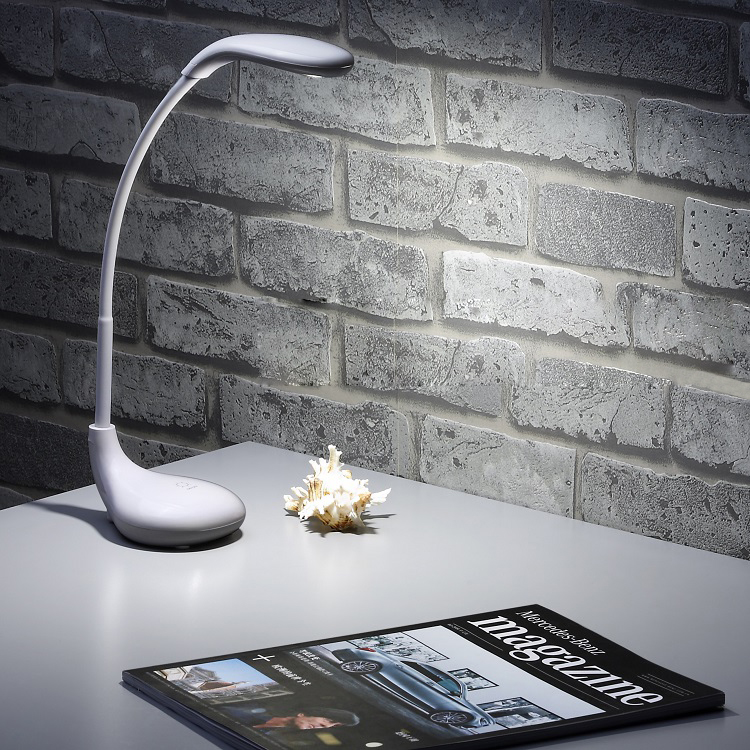 Desk Lamp,Eye-care Dimmable Table Light Lamp with Touch Control, Adjustable Lamp for Studying, Reading,- cool warm White 2015new 3 mode touch dimmable warm white 8 led desk lamp charging atmosphere night light for bar coffee house bronze coloured