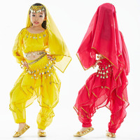 Children Belly Dance Costumes Kids Belly Dancing Girls Bollywood Indian Performance Clothing Wholesale
