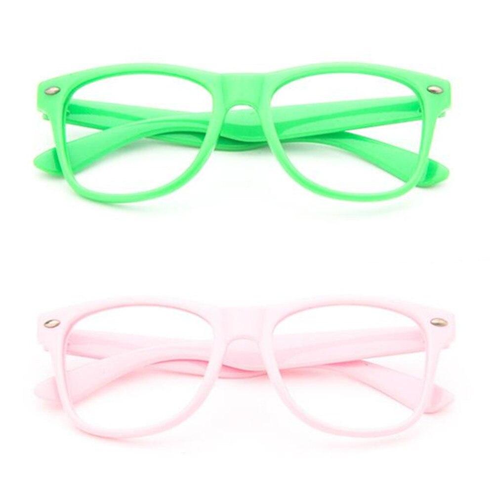 Винтажные детские оправы для очков для мальчиков и девочек, очки для близорукости Rx, детские очки без линз