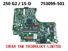 753099-501 FOR HP 15-D 250 G2 Laptop Motherboard 753099-001 Intel Pentium N3520 Mainboard 90Days Warranty 100% tested