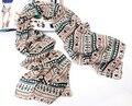 As pessoas das mulheres personagem impressão grande lenço longo xale envoltório roubou xaile cabo chiffon tippet silenciador 2014 novos Lenços de design