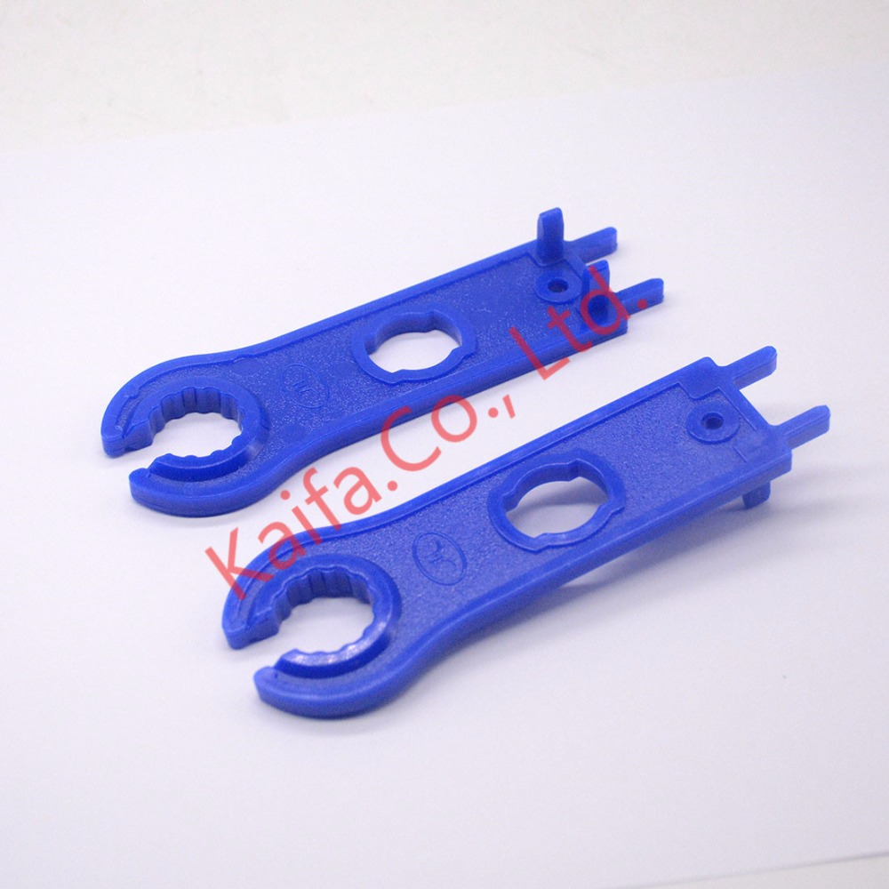 1 Pair(2pcs) MC4 Solar Connector Disconnect Tool Spanners  Solar Wrench Blue solar tools original 4 1609155 2 connector