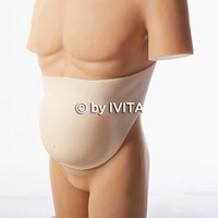 5~7 Months Artificial Baby Tummy, Belly Fake Pregnancy, Pregnant Bump Silicone belly