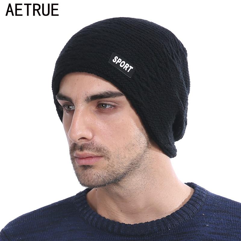 Winter Skullies Beanies Knit Hat Winter Hats For Men Women Brand Beanie Men Warm Baggy Caps Cheap Gorras Bonnet Fashion Cap Hat skullies