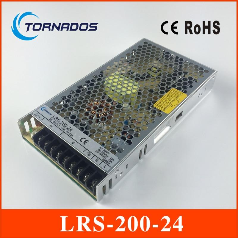все цены на LRS-200-24 ac/dc single output 200w 24v slim type led driver power supply