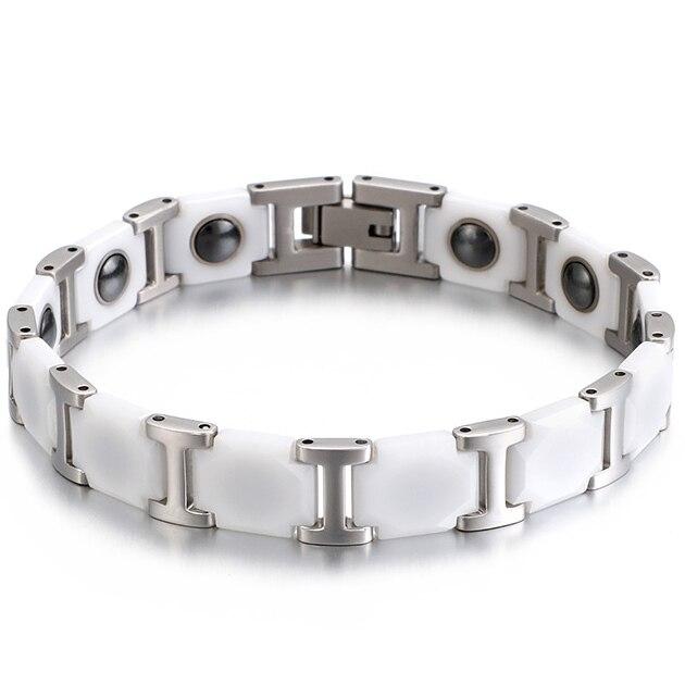 Chain Link Ceramic Bracelet...
