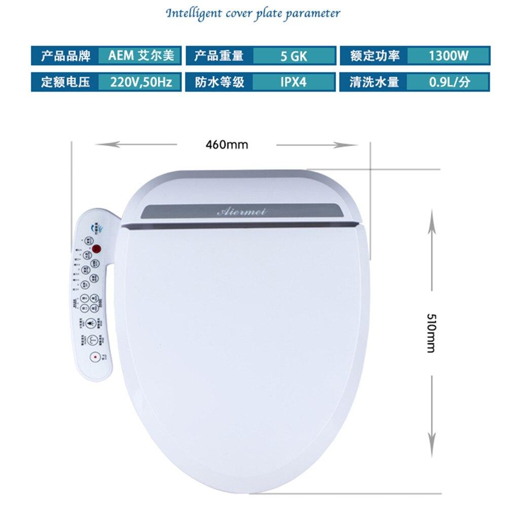 inteligente automático eletrônico banheiro toalete flush dobradiça