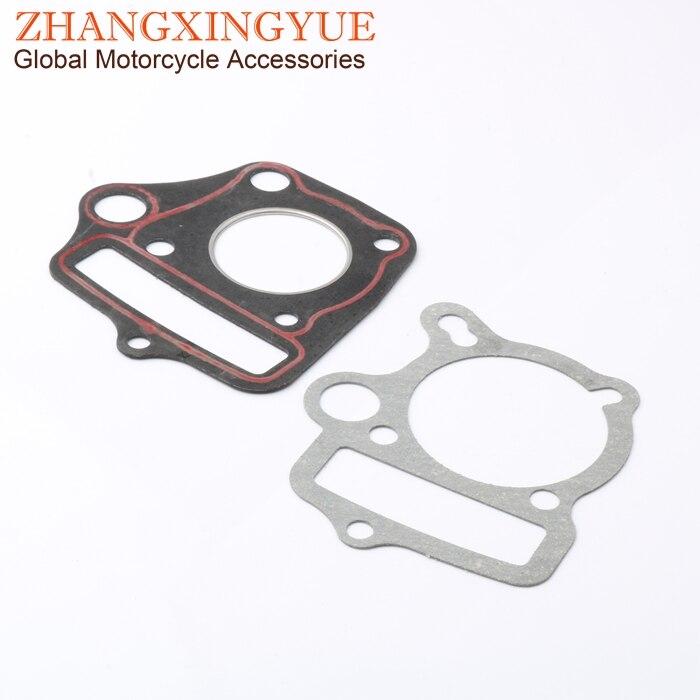 UNTIMERO 50 CC Cylindre Haut Moteur Piston Joints KIT pour Honda TRX 50 St 50 DAX 4T