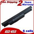 Аккумулятор для ноутбука Asus A31-K53 A32-K53 A41-K53 A42-K53 A43 A53 A54 A83 K43 K53 P43 P53 X43 X44 X53 X54 X84