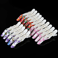 5Pcs/pack Barrette Hairdressing Clamps Hair Section Clip Grip Flower Hair Salon Plastic Crocodile Claw Clip Tools Accessories