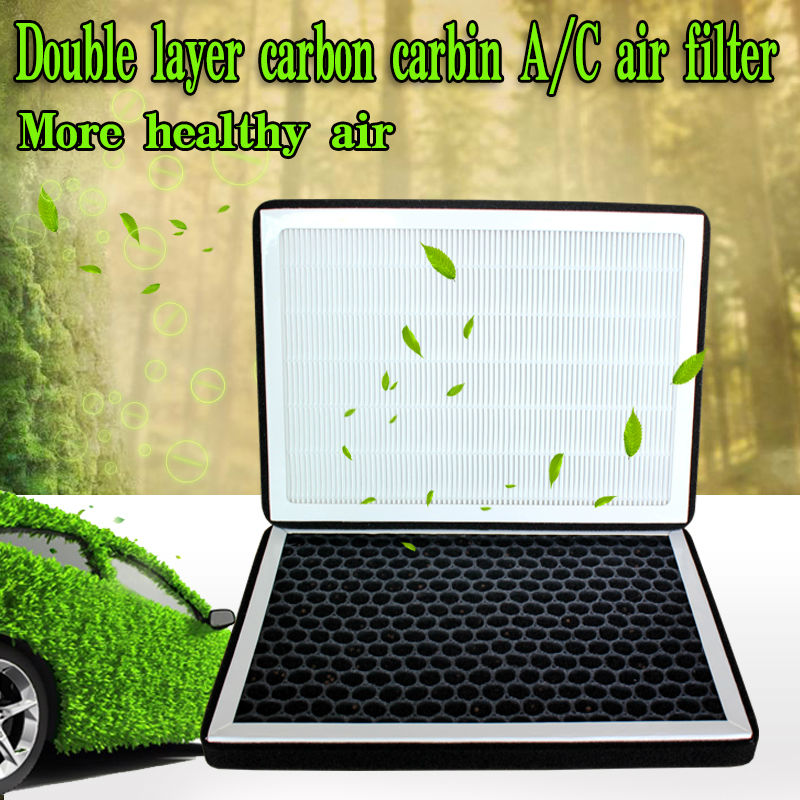 Double Layer Carbon Filter Carbin Ac Air Filter For Chevrolet