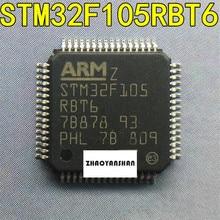 10 pcs X STM32F105RBT6 STM32F105 LQFP64 NIEUWE Gratis Verzending