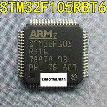 10pcs X STM32F105RBT6 STM32F105 LQFP64 NEW Free Shipping