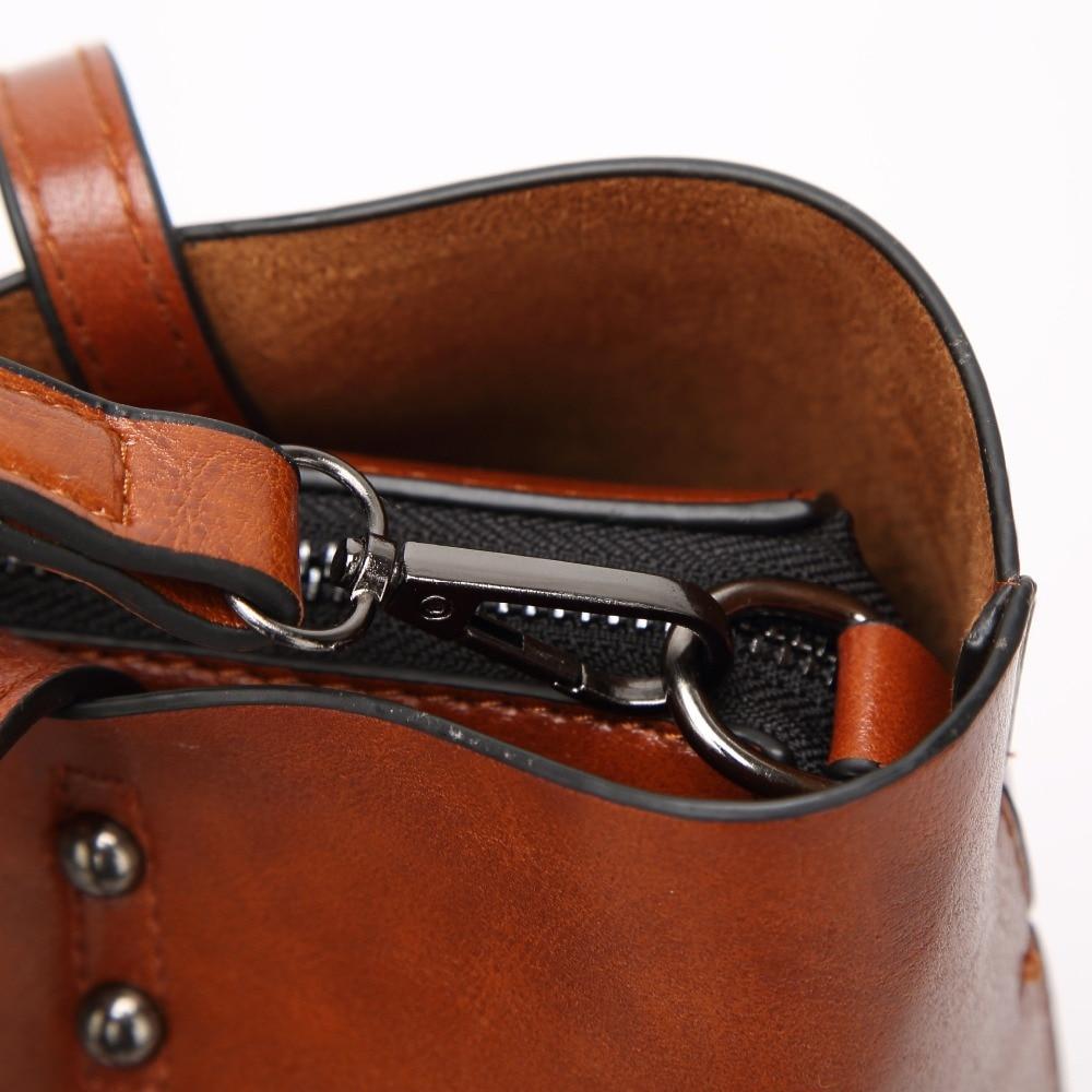 New Vintage Women Tote Leather Handbags  4
