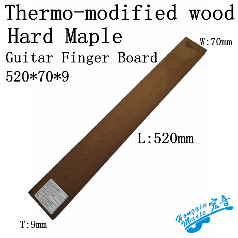 Guitar Parts & Accessories Practical Thermo-modified Wood Woocarbonization Hard Maple Material Guitarra Fingerboard For Electric Acoustic Guitar Classical Guitar To Be Highly Praised And Appreciated By The Consuming Public Sports & Entertainment