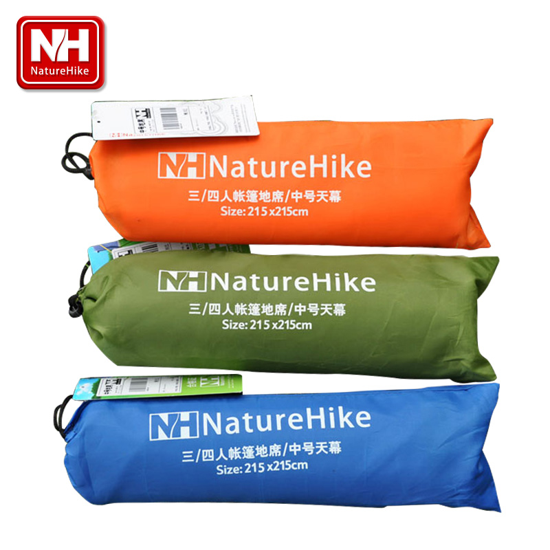 POINT BREAK NH15D005-X Oxford 3-4 People Mat Outdoor Camping Traveling Moisture-proof Pad Tent Accessories Multi-function awning