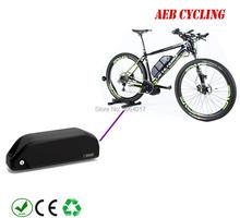 Акула вниз трубки аккумулятор 52 В 13Ah/14.5Ah/16Ah/16.5Ah/17.5Ah литий-ионный 52 В высокое напряжение электрический велосипед батареи для fat tire bike