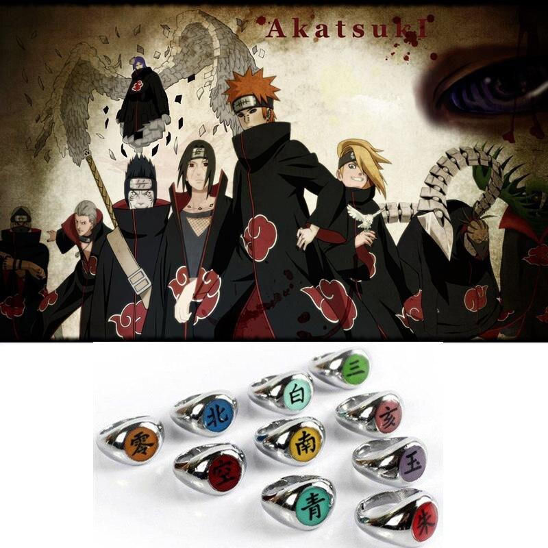 Figuras 6 piezas Naruto Sasuke Kakashi Orochimaru Madara Uchiha Hashirama Senju