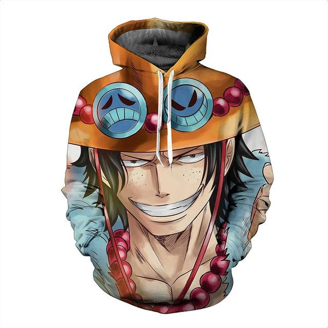 Anime One Piece 3D Print Hoodies
