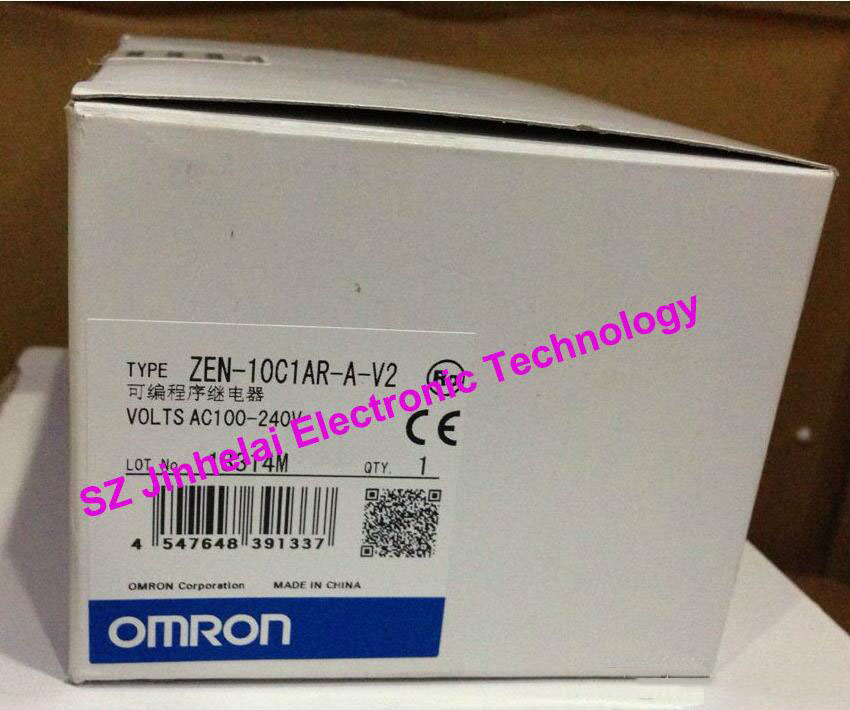 100%New and original ZEN-10C1AR-A-V2 OMRON Programmable relay AC100-240V все цены